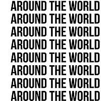 Around the world, Around the world Photographic Print