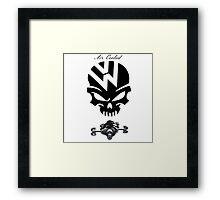 volkswagen logo air cooled Framed Print