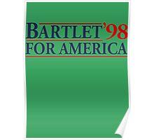 Bartlet for America Slogan Poster
