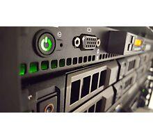 Rack Server Photographic Print