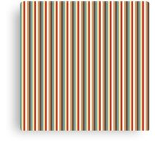 Multi Vertical Stripes in trendy colours Canvas Print