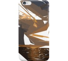 Gold and Brown iPhone Case/Skin