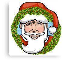 Holiday Santa Clause Canvas Print