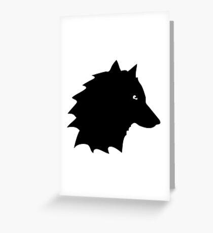 loup wolf  Greeting Card