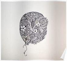 Henna Circle Poster