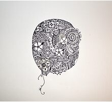 Henna Circle Photographic Print