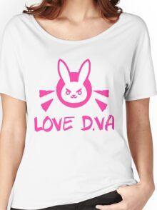 OVERWATCH D VA Women's Relaxed Fit T-Shirt