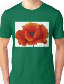 RED POPPY Painting Unisex T-Shirt