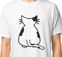 Black & White Cat Classic T-Shirt