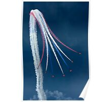Red Arrows - Vertical Break Poster