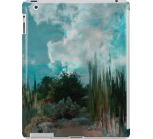 Evening looking at the heavens... iPad Case/Skin