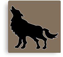 loup wolf  Canvas Print