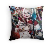 Harley Quinn Throw Pillow