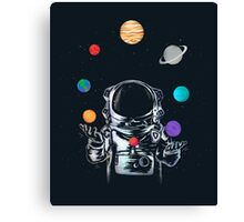 Space Circus Canvas Print