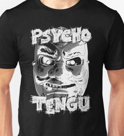 Psycho Tengu - White Unisex T-Shirt