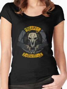 OVERWATCH REAPER Women's Fitted Scoop T-Shirt
