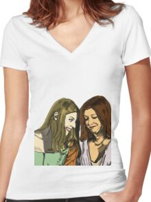 I'm under your spell Women's Fitted V-Neck T-Shirt