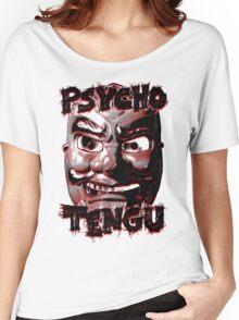 Psycho Tengu - Black/Red Women's Relaxed Fit T-Shirt