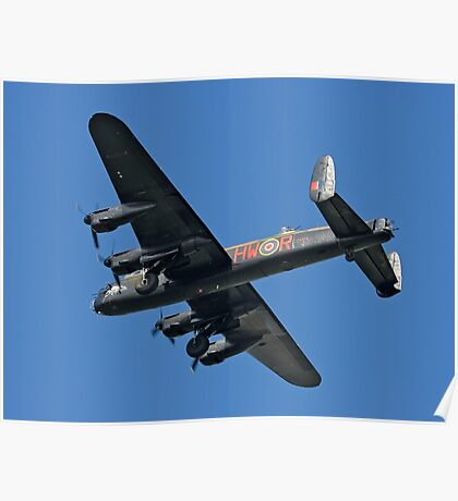 Avro Lancaster B.1 PA474 HW-R Poster
