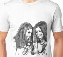 black and white Willow and Tara Unisex T-Shirt
