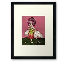 Berry Fae Framed Print