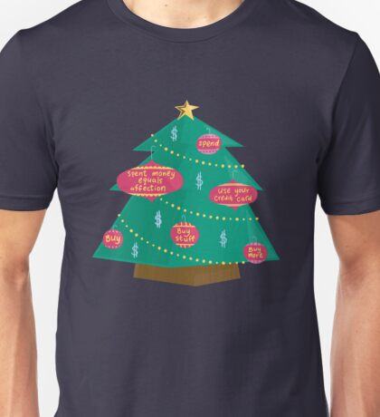 Capital Christmas tree Unisex T-Shirt