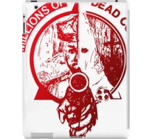 millions of dead cops iPad Case/Skin