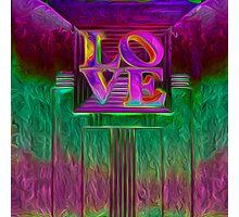 ART DECO LOVE Photographic Print