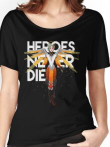 OVERWATCH MERCY Women's Relaxed Fit T-Shirt
