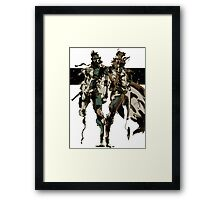 Metal Gear Solid - Solid & Liquid Framed Print