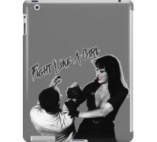 FIGHT LIKE A GIRL! iPad Case/Skin
