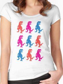 Rex on Rex on Rex Women's Fitted Scoop T-Shirt