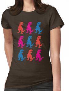 Rex on Rex on Rex Womens Fitted T-Shirt