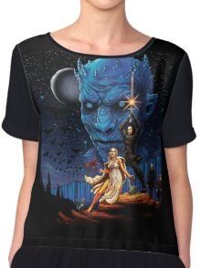 Throne wars is coming Chiffon Top