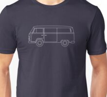 VW T2 Van Blueprint Unisex T-Shirt