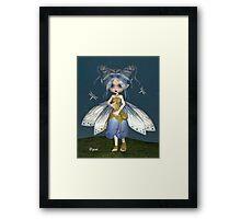 Bluebell Fae Framed Print