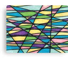 Color Mashup Design Canvas Print