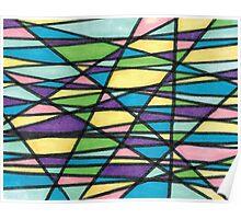 Color Mashup Design Poster