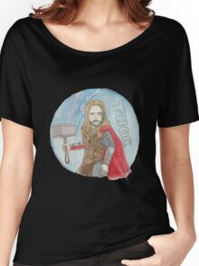 Thor and Mjolnir Women's Relaxed Fit T-Shirt