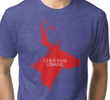 Christmas is Coming Tri-blend T-Shirt