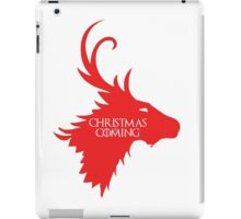 Christmas is Coming iPad Case/Skin