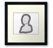 Masked Framed Print