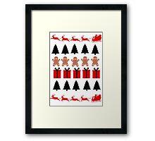 Christmas Shirt  Framed Print