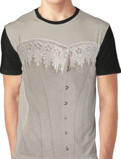 Vintage Victorian Corset Graphic T-Shirt