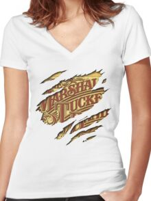 The Marshall Tucker Band Women's Fitted V-Neck T-Shirt