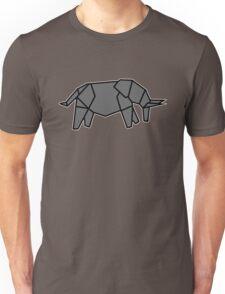 origami éléphant elephant Unisex T-Shirt