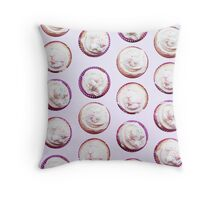 A lovely bunch of cupcakes Throw Pillow