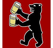 ours berlin beer Bier bear Photographic Print