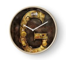 Steampunk - Alphabet - G is for Gears Clock