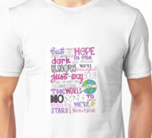 Scars To Your Beautiful by Alessia Cara Unisex T-Shirt